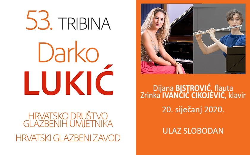 "53. tribina ""Darko Lukić"""