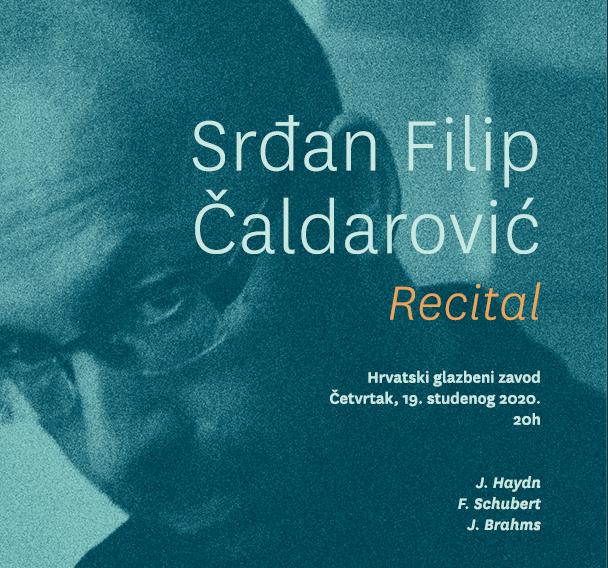 Pijanistički recital Srđana Filipa Čaldarevića u HGZ-u
